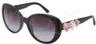Dolce & Gabbana DG4183 Sunglasses Sunglasses - 501/8G Black / Gray Gradient