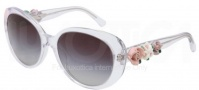 Dolce & Gabbana DG4183 Sunglasses Sunglasses - 656/8G Crystal / Gray Gradient