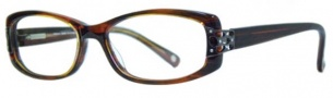 Adrienne Vittadini AV1074 Eyeglasses Eyeglasses - Red