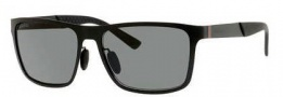 Gucci 2238/S Sunglasses Sunglasses - 0PDE Semi Matte Black (RA Gray Polarized Lens)