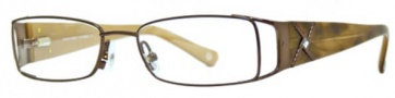 Adrienne Vittadini AV1078 Eyeglasses Eyeglasses - Brown