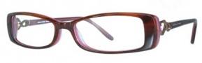 Adrienne Vittadini AV1082 Eyeglasses Eyeglasses - BURG Burgundy