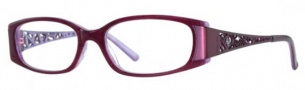 Adrienne Vittadini AV1086 Eyeglasses Eyeglasses - Burgundy
