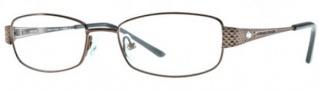 Adrienne Vittadini AV1088 Eyeglasses Eyeglasses - Brown