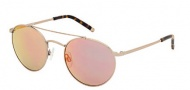 Kenneth Cole New York KC7096 Sunglasses Sunglasses - 45L Shiny Light Brown / Mirror