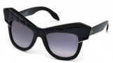 Roberto Cavalli RC750S Wild Diva Sunglasses Sunglasses - 01B Shiny Black / Gradient Smoke