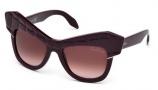 Roberto Cavalli RC750S Wild Diva Sunglasses Sunglasses - 81Z Shiny Violet / Gradient Mirror