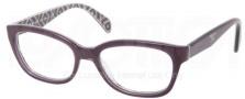 Prada PR 20PV Eyeglasses Eyeglasses - MAT101 Top Violet