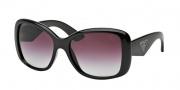 Prada PR 32PS Sunglasses Sunglasses - 1AB4V1 Black / Violet Gradient