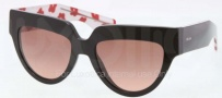Prada PR 29PS Sunglasses Sunglasses - 1AB0A5 Black / Pink Gradient