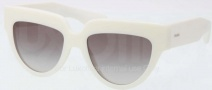Prada PR 29PS Sunglasses Sunglasses - 7S30A7 Ivory / Gray Gradient