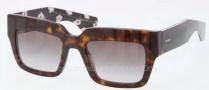 Prada PR 28PS Sunglasses Sunglasses - 2AU0A7 Havana / Gray Gradient