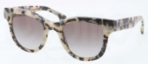 Prada PR 27PS Sunglasses Sunglasses - KAD0A7 White Havana / Gray Gradient