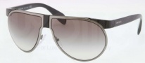 Prada PR 23PS Sunglasses Sunglasses - 1AB0A7 Black Gunmetal / Gray Gradient