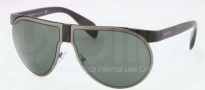 Prada PR 23PS Sunglasses Sunglasses - 1BO301 Matte Black / Gray Green