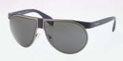 Prada PR 23PS Sunglasses Sunglasses - MA31A1 Matte Blue / Gray Gradient