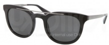 Prada PR 13PS Sunglasses Sunglasses - 1AB1A1 Black / Gray