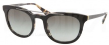 Prada PR 13PS Sunglasses Sunglasses - NAl0A7 Top Black / Gray Gradient