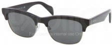 Prada PR 11PS Sunglasses Sunglasses - 1AB1A1 Black / Gray