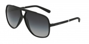 Dolce & Gabbana DG6081 Sunglasses Sunglasses - 26168G Black / Grey Gradient Lens