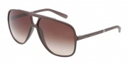 Dolce & Gabbana DG6081 Sunglasses Sunglasses - 265213 Brown / Brown Gradient Lens