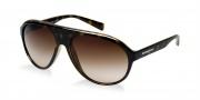 Dolce & Gabbana DG6080 Sunglasses Sunglasses - 502/13 Havana / Brown Gradient Lens