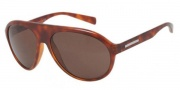 Dolce & Gabbana DG6080 Sunglasses Sunglasses - 706/73 Light Havana / Brown Lens