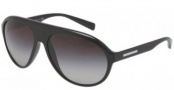 Dolce & Gabbana DG6080 Sunglasses Sunglasses - 501/8G Black / Grey Gradient Lens