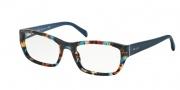 Prada PR 18OV Eyeglasses Eyeglasses - NAG1O1 Havana Spotted Blue