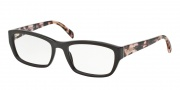 Prada PR 18OV Eyeglasses Eyeglasses - DHO1O1 Dark Brown