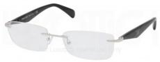 Prada PR 55PV Eyeglasses Eyeglasses - 2BB101 Silver