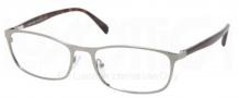 Prada PR 51PV Eyeglasses Eyeglasses - 2AU101 Gunmetal