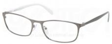 Prada PR 51PV Eyeglasses Eyeglasses - LAl101 Brushed Gunmetal