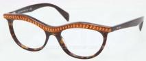 Prada PR 22PV Eyeglasses Eyeglasses - MA4101 Top Light Havana