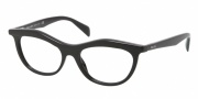 Prada PR 23PV Eyeglasses Eyeglasses - 1AB101 Black