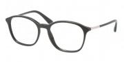 Prada PR 19OV Eyeglasses Eyeglasses - 1AB101 Black