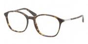 Prada PR 19OV Eyeglasses Eyeglasses - 2AU101 Havana