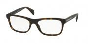 Prada PR 19PV Eyeglasses Eyeglasses - HAQ101 Matt Havana