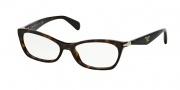 Prada PR 15PV Eyeglasses Eyeglasses - 2AU101 Havana