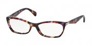 Prada PR 15PV Eyeglasses Eyeglasses - PDN1O1 Spotted Violet Havana