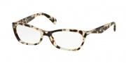 Prada PR 15PV Eyeglasses Eyeglasses - UAO1O1 Spotted Opal Brown