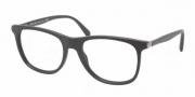 Prada PR 13PV Eyeglasses Eyeglasses - 1BO101 Matte Black