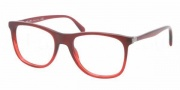 Prada PR 13PV Eyeglasses Eyeglasses - MAX101 Bordeaux Gradient Red