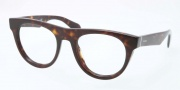 Prada PR 08QV Eyeglasses Eyeglasses - 2AU101 Havana