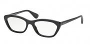 Prada PR 03QV Eyeglasses Eyeglasses - 1AB101 Black