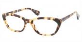 Prada PR 03QV Eyeglasses Eyeglasses - KAD1O1 White Havana