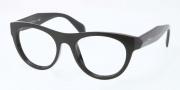 Prada PR 02QV Eyeglasses Eyeglasses - 1AB101 Black