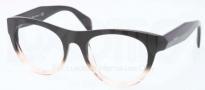 Prada PR 02QV Eyeglasses Eyeglasses - QFJ101 Black Gradient Pink