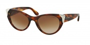Ralph Lauren RL8112 Sunglasses Sunglasses - 500713 Shiny Red Tortoise / Gradient Brown