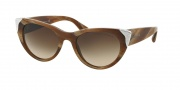 Ralph Lauren RL8112 Sunglasses Sunglasses - 544413 Brown Horn Vintage / Gradient Brown